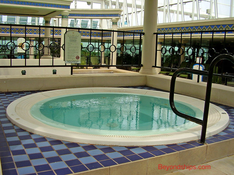 Grandeur Of The Seas Photo Tour And Commentary Pools Spa