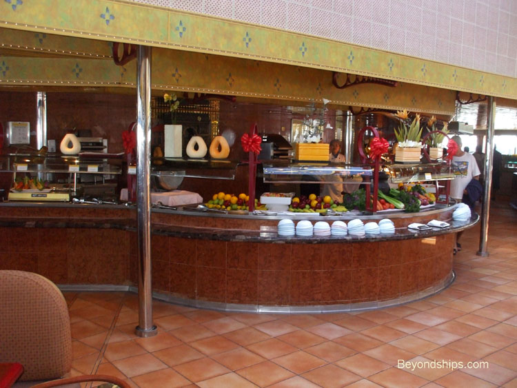 Carnival Conquest - Photo Tour, Guide and Commentary dining