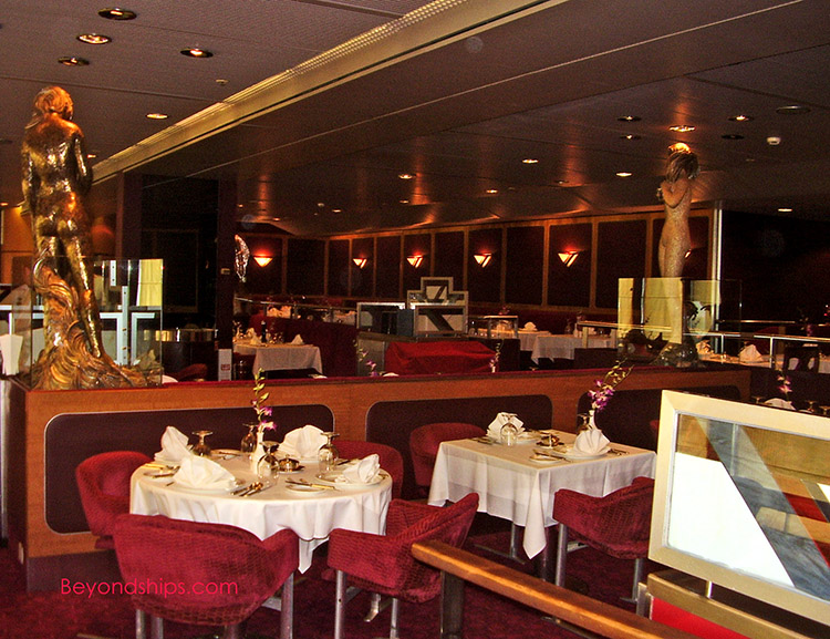 Cruise Ship Feature Article Specialty Restaurants