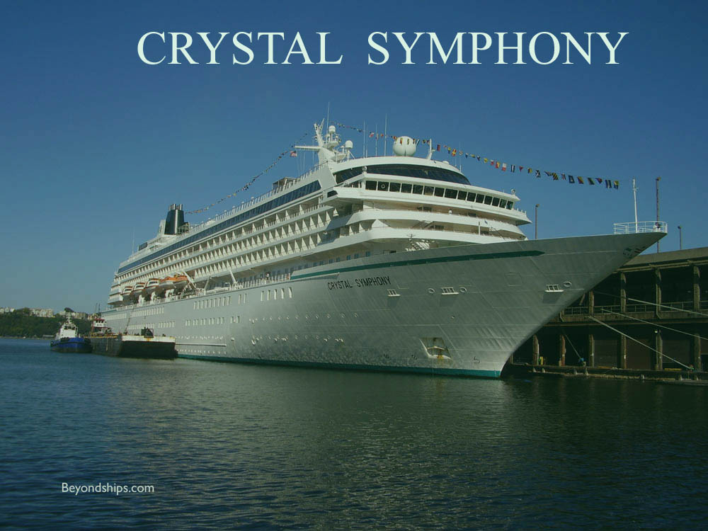 Crystal Symphony Interview With Captain And Hotel Director