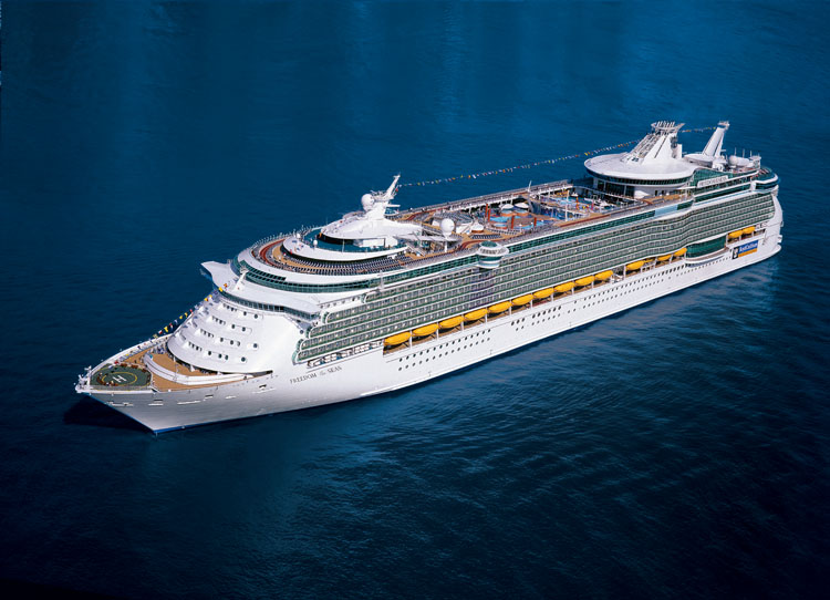 Freedom Of The Seas Comparison With QM - Queen of the seas cruise ship