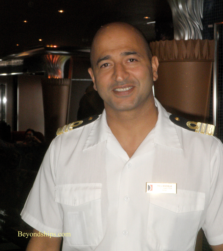 Carnival Glory Hotel Director Interview