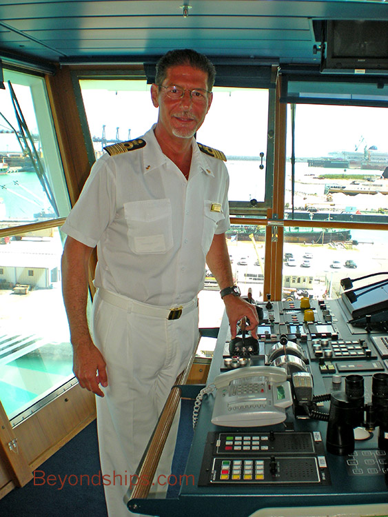 carnival cruise lines ad captain