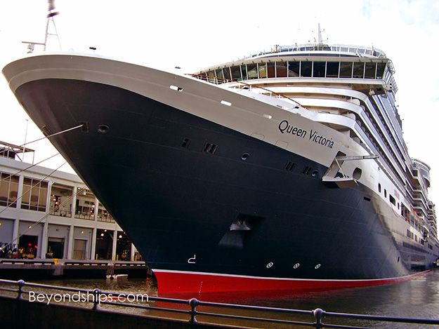 Queen Victoria Photo Tour And Commentary Page - Tracking queen victoria cruise ship