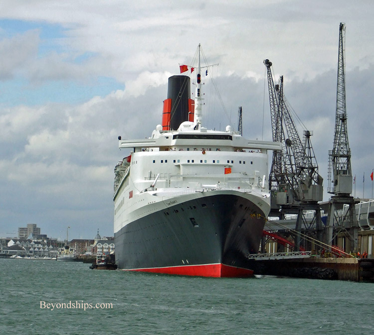 QE2 From The Hythe Ferry
