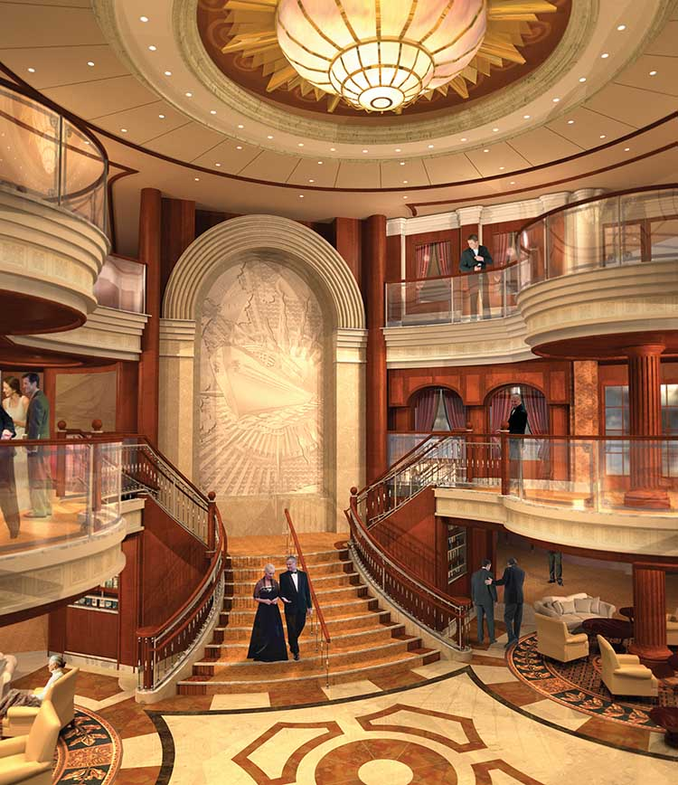 Queen Mary Ship Interior Images