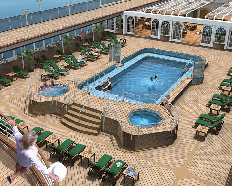 tour of cunard 39 s queen victoria continued