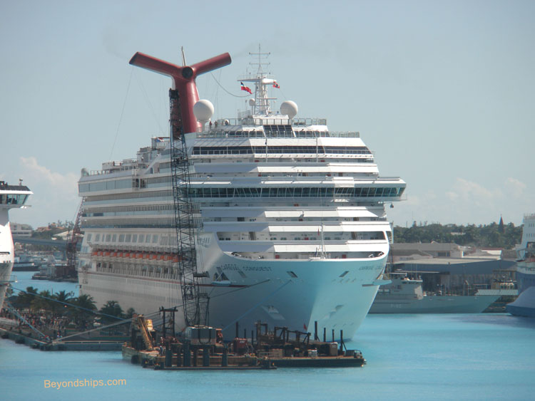 Cruise Line Fleets Carnival Cruise Lines - Age of carnival cruise ships