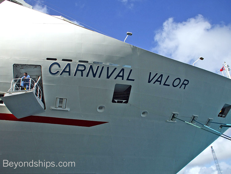 Carnival Valor - Tour and Commentary
