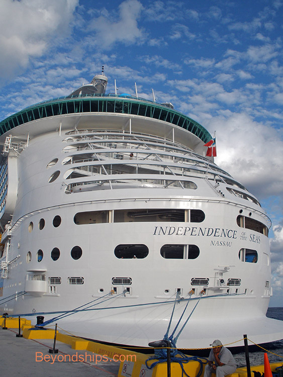 Independence Of The Seas Profile Page And Guide - Cruise ship independence
