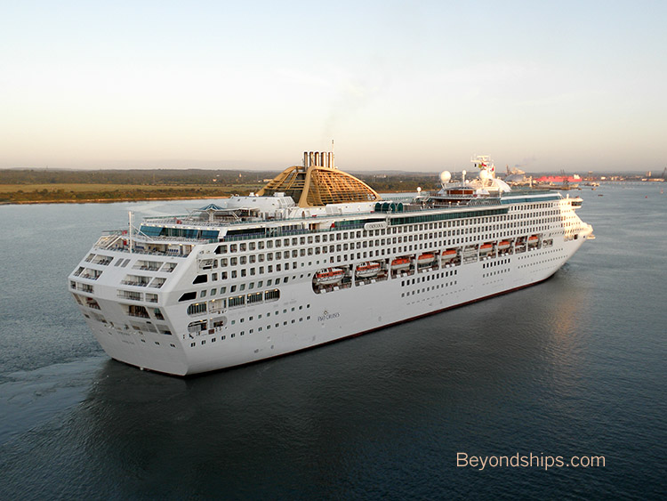oceana p o cruise ship profile page
