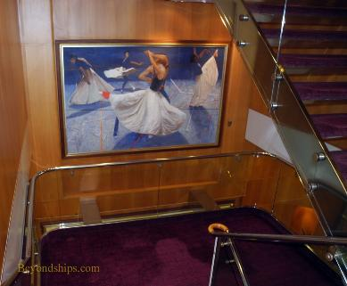 Grandeur of the Seas, art collection