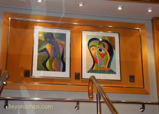 Cruise ship Explorer of the Seas art work