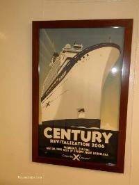 Celebrity century cruise ship tour poster
