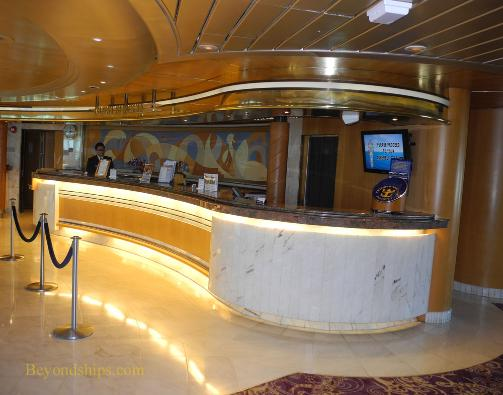 Grandeur of the Seas, guest services desk