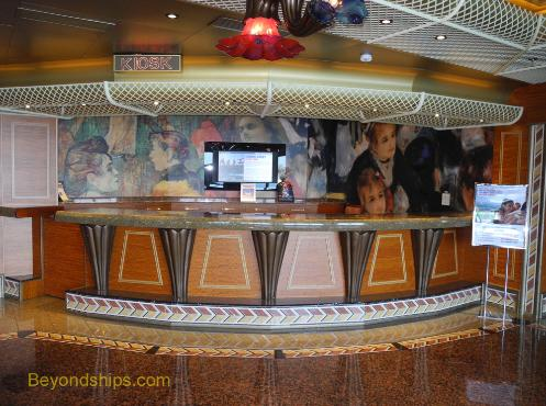 Carnival Conquest future cruise desk