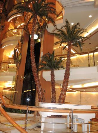Cruise ship Sea Princess, atrium