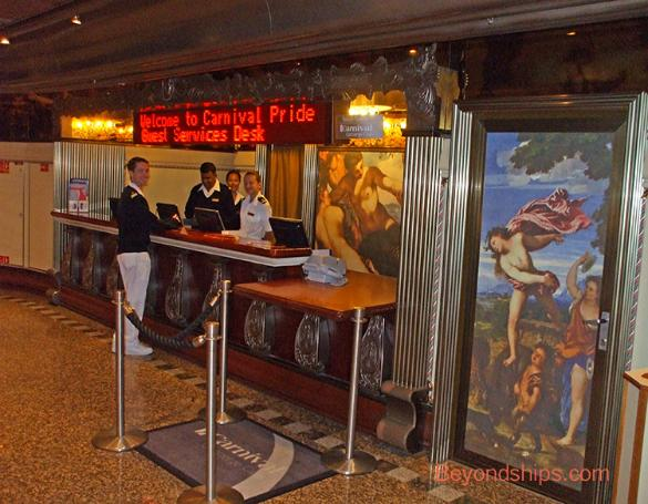 Carnival Pride Tour And Commentary