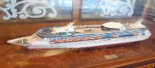 Grandeur of the Seas, ship model