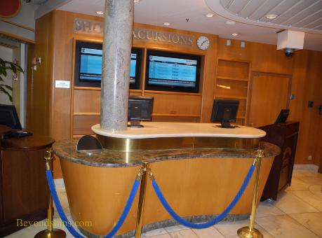 Adventure of the Seas cruise ship interior