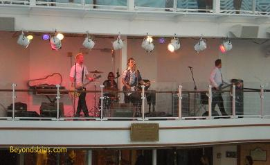 Ruby Princess bandstand