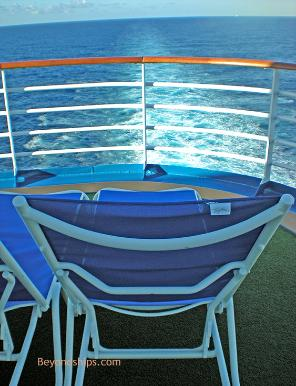 Ruby Princess deck chair