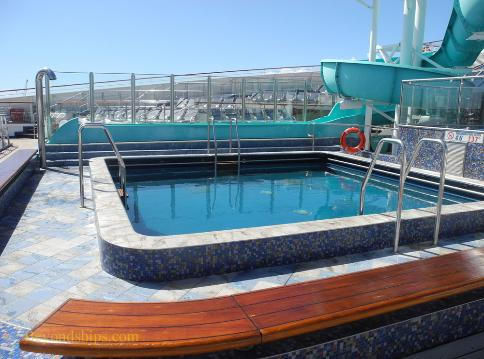 Carnival Liberty Conney Island pool