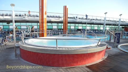 Liberty of the Seas hot tub