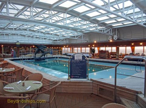 Westerdam Photo Tour And Commentary Pools And Sports