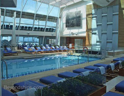 Celebrity Eclipse Solarium Photos - 20 Pictures