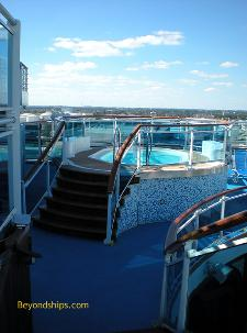 Ruby Princess hot tub