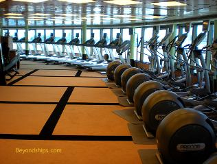 Ruby Princess fitness