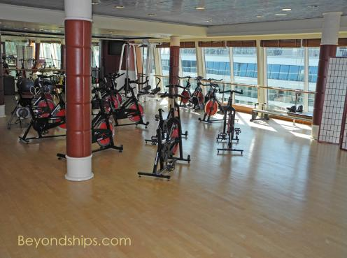 Norwegian Sky fitness center