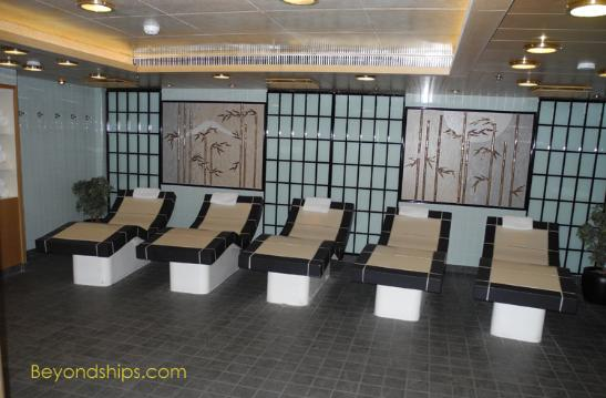 crown princess photo  pools spa  open decks