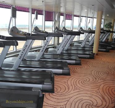 cruise ship photo Cunard's Queen Victoria - fitness centre