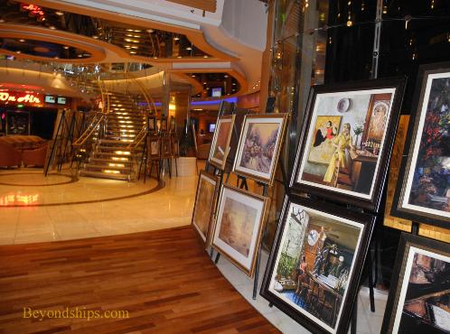Art Gallery, Independence of the Seas cruise ship