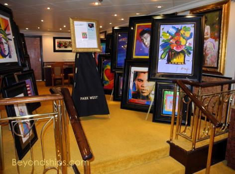 Norwegian Sky art gallery