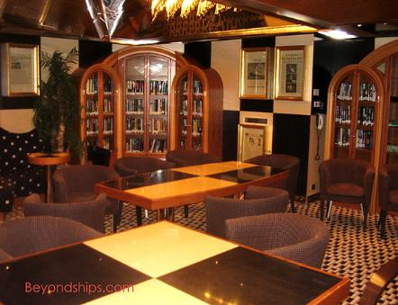 Cruise ship Carnival Glory library