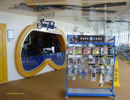 Oasis of the Seas shops