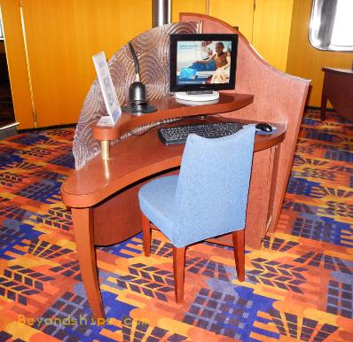 cruise ship Carnival Ecstasy internet