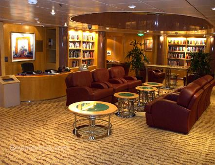 Independence of the Seas cruise ship library