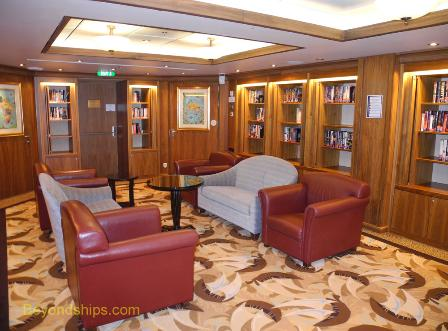 Oasis of the Seas library