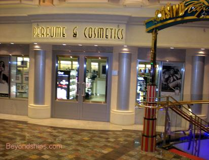 Independence of the Seas cruise ship shop