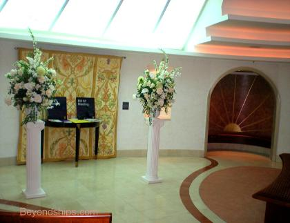 Independence of the Seas cruise ship wedding chapel