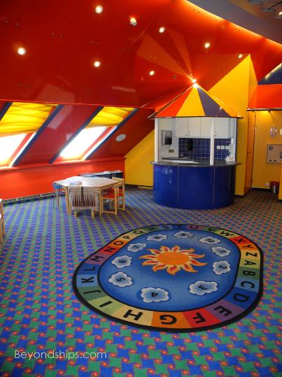 Norwegian Sky children's facilities