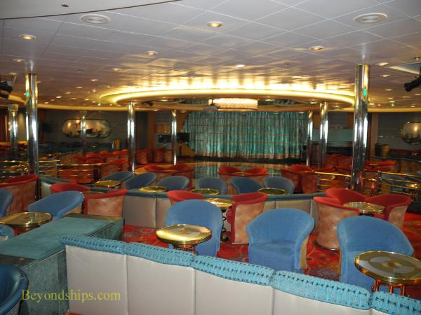Legend of the Seas, cruise ship, lounge