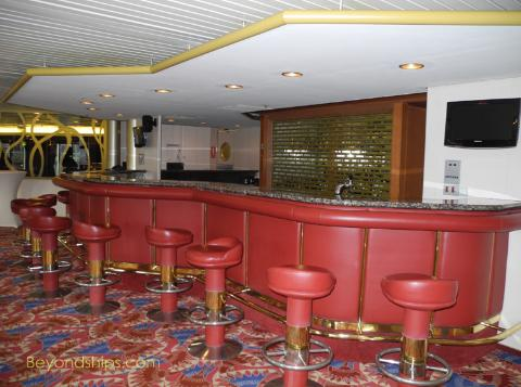 Artania cruise ship (kreuzschiffe), Atlantik Bar