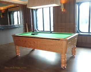 Britannia Photo Tour And Commentary Bars - Cruise ship pool table