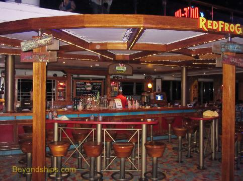 Carnival Conquest Photo Tour Guide And Commentary Bars