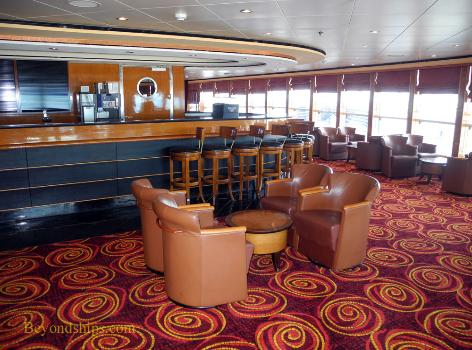 Cruise ship Norwegian Dawn, interior